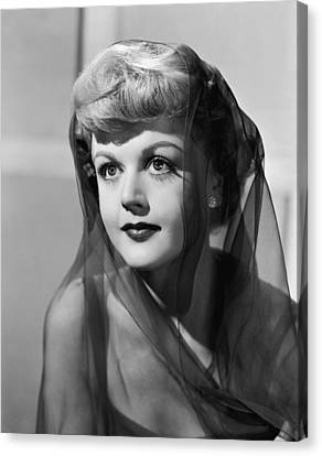 The Red Danube, Angela Lansbury, 1949 Canvas Print by Everett