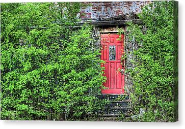 The Red Door Canvas Print by JC Findley