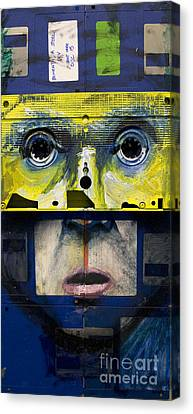 The Reproduction Number 5 Canvas Print by Nick Jentry