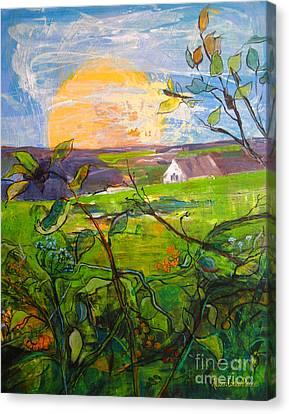 The Return Canvas Print by Allison Coelho Picone