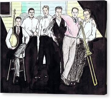 The Rhythm Jugglers Canvas Print