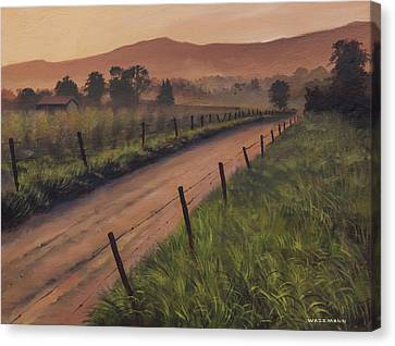 The Road Home Canvas Print by Cliff Wassmann