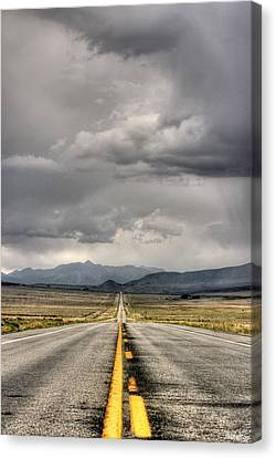 The Road Canvas Print by Stellina Giannitsi