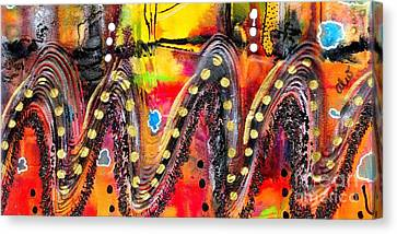 The Roller Coaster Canvas Print by Angela L Walker