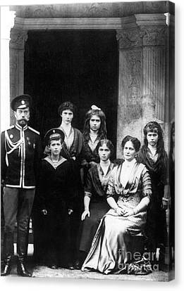 The Romanovs Canvas Print by Science Source