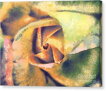 The Rose Canvas Print by Odon Czintos