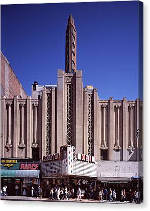 The Roxie Theater, Built By John M Canvas Print by Everett
