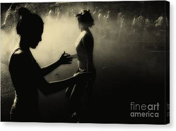 The Runners Canvas Print by Kathleen K Parker