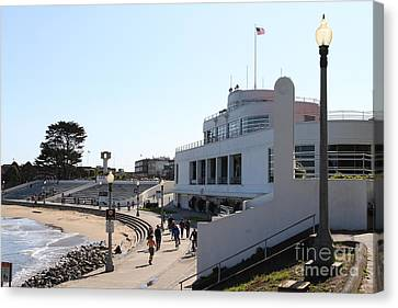 The Sala Burton Building . Maritime Museum . San Francisco California . 7d13993 Canvas Print