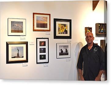 The Salon Exhibit 2 Canvas Print by Artie Wallace