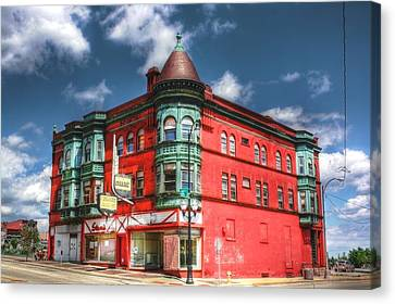 The Sauter Building Canvas Print by Dan Stone