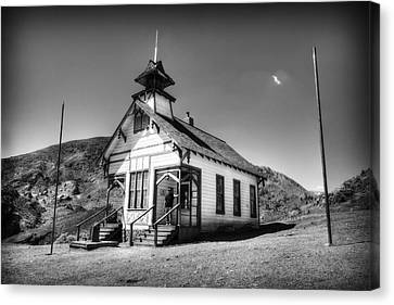 The School House 2 Canvas Print by Jessica Velasco