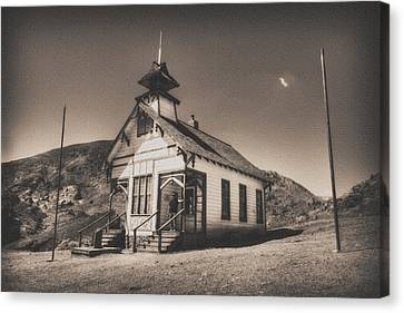The School House 3 Canvas Print by Jessica Velasco