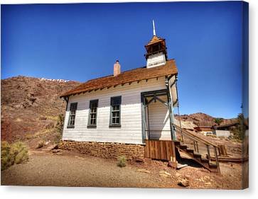 The School House 4 Canvas Print by Jessica Velasco