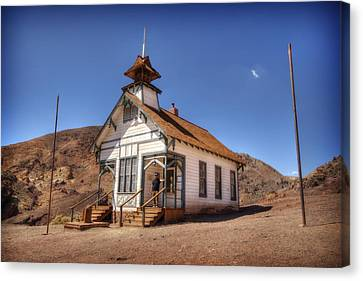 The School House Canvas Print by Jessica Velasco