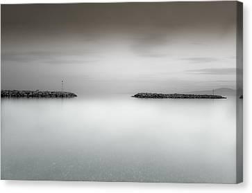 The Sea Between Us Canvas Print