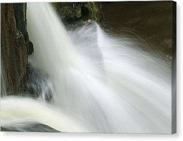 The Second Lahuarpia Falls, Lahuarpia Canvas Print by Nigel Hicks