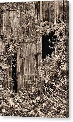The Secret Door Canvas Print by JC Findley