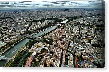 The Seine River 2 Canvas Print by Edward Myers
