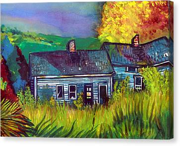 The Shack Canvas Print by Mindy Newman