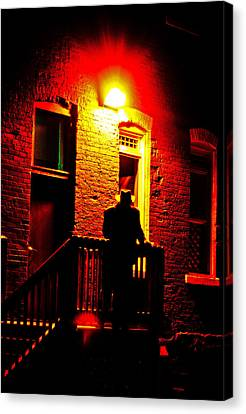 Canvas Print featuring the photograph The Shadow by Randall  Cogle