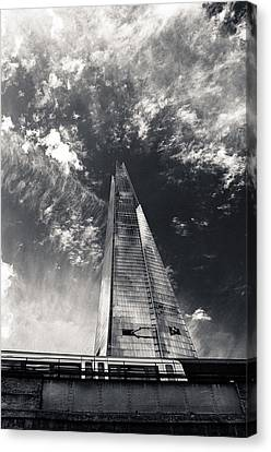 The Shard And London Bridge Canvas Print