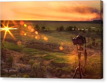 The Significance Of Light Canvas Print by Douglas Barnard