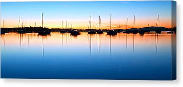 The Silent Fleet Canvas Print by Paul Svensen