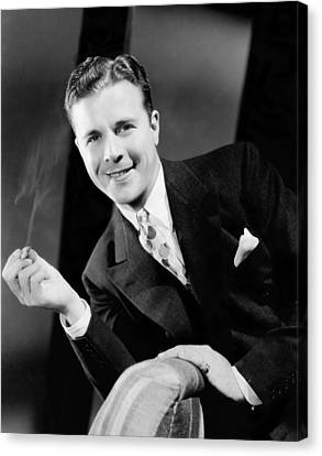 The Singing Marine, Dick Powell, 1937 Canvas Print by Everett
