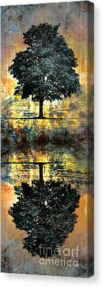 The Small Dreams Of Trees Canvas Print by Tara Turner