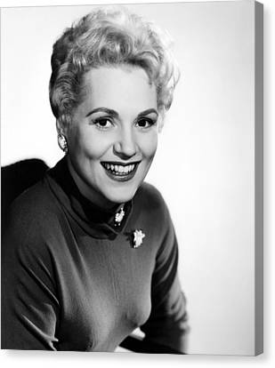 The Solid Gold Cadillac,judy Holliday Canvas Print by Everett