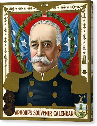 The Spanish American War. Portrait Canvas Print by Everett
