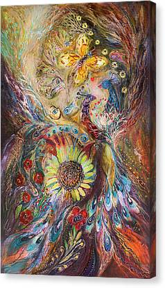 The Spirit Of Flowers Canvas Print by Elena Kotliarker