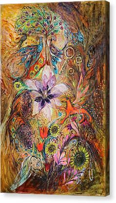 The Spirit Of Garden Canvas Print by Elena Kotliarker