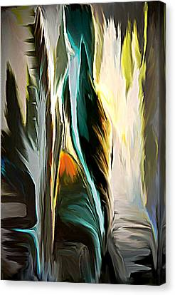 The Spiritual Gathering Canvas Print by Sherri's Of Palm Springs