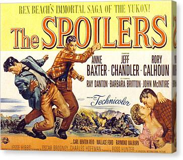 The Spoilers, Rory Calhoun, Jeff Canvas Print by Everett