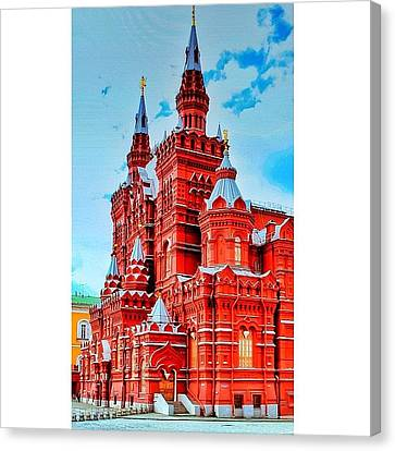 The State Historical Museum (russian: Canvas Print by Tommy Tjahjono