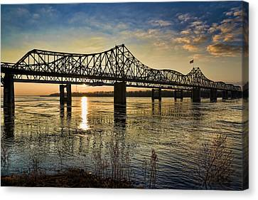 The State Line Canvas Print by Ray Devlin