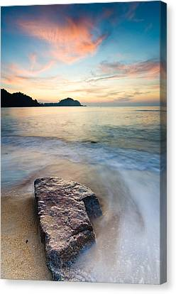The Stone Canvas Print by Yusri Salleh