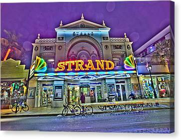 The Strand Canvas Print