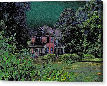 Canvas Print featuring the photograph The Stuff Of Fairy Tales by Louis Nugent
