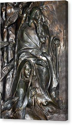 The Submission At Nativity Church Canvas Print by Munir Alawi