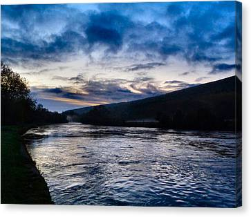 The Suir Ireland. Canvas Print