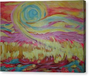 The Sun's Love Canvas Print