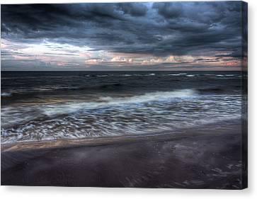The Surf Canvas Print by Matt Dobson