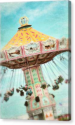 The Swings 2 Canvas Print by Sylvia Cook