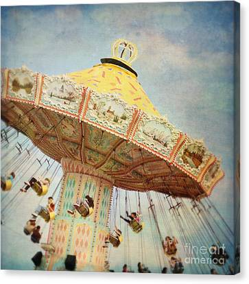 The Swings Canvas Print