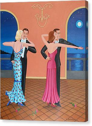 The Tango Canvas Print by Tracy Dennison