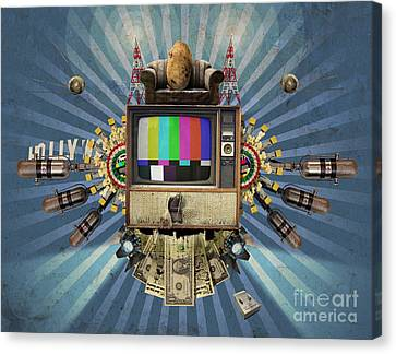 The Television Will Not Be Revolutionised Canvas Print