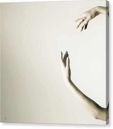 The Tilt Hands Canvas Print by Nikolay Krusser